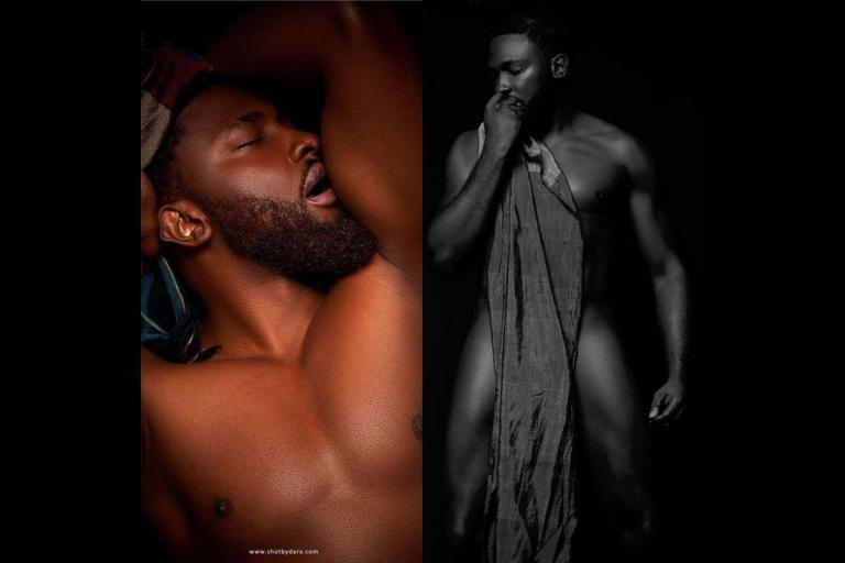 Uti Nwachukwu Drops Risqué Photos To Mark His 39th birthday