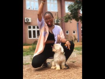 Nigerian Man Advises His Fellow Men To Be Watchful Of Ladies Who Keep Dogs As Pet