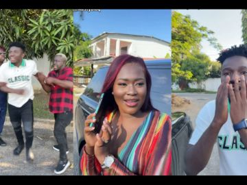 VIDEO: Nasty Blaq Features Fella Makafui, SDK, And Made_in_Ghana In A Rib Cracking Comedy Skit