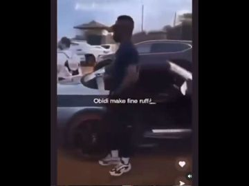 VIDEO: Sarkodie Turns Drunkard As He's Spotted Heavily Drunk And Unable To Walk Properly