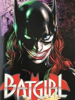 Batgirl Joker Spliced Cover