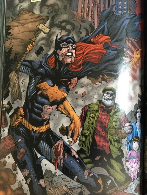 Batgirl Battered
