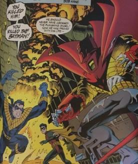 Azrael vs Nightwing:Robin