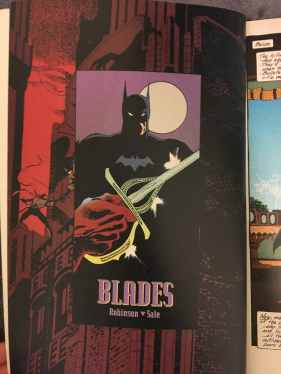 Batman: Blades Review