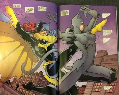 Batgirl Fights Catwoman