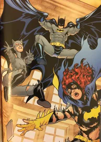Batman Catwoman Batgirl