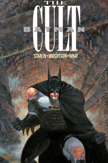 Batman The Cult Cover