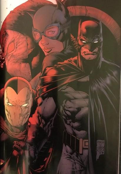 Bane Batman Catwoman and Psycho-Pirate