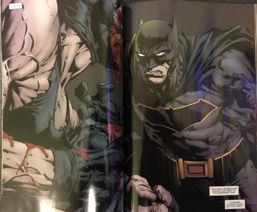 Bane Vs. Batman Rebirth