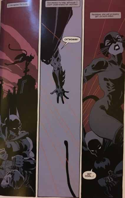 Batman Catwoman Dark Victory