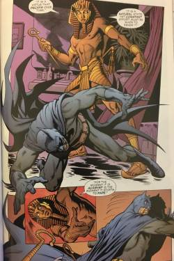 Batman King Tut Fight