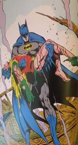 Batman Carries Jason's Corpse