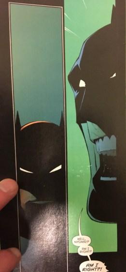 Batman Challenges Riddler Zero Year Dark City