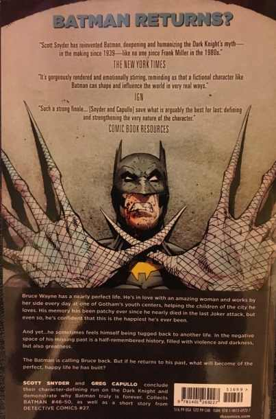 Batman Volume 9 Bloom Rear