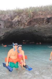 Pacific Ocean Swimming