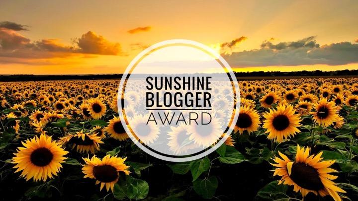 Sunshine Blogger Nomination