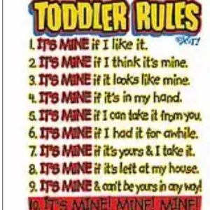 Toddler Rules