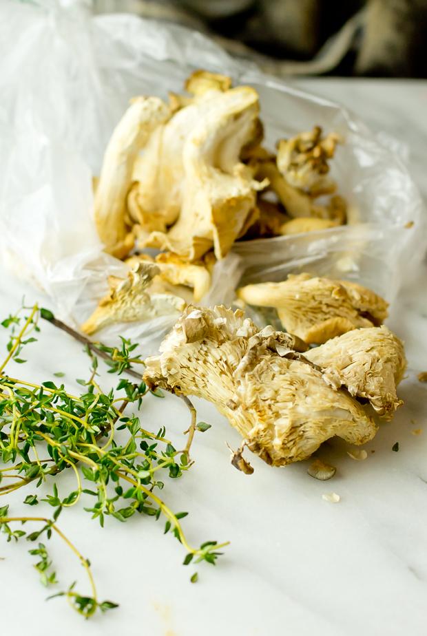 Crepes with Gruyere and Wild Mushrooms - thegourmetgourmand.com