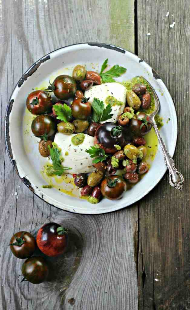 Caprese Olive Salad
