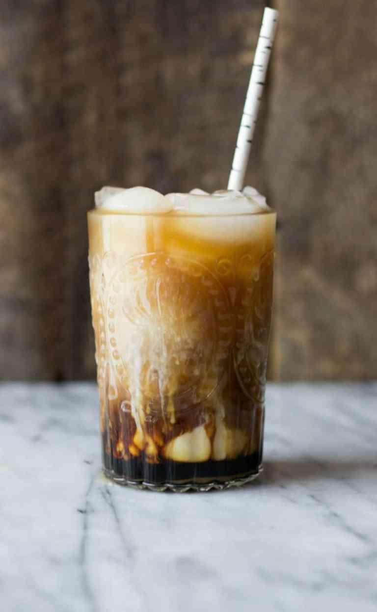 Cold Brew Coconut Vanilla Macchiato