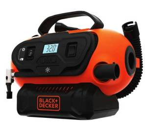 Black Decker Cordless Tire Inflator