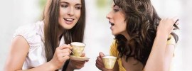 women, coffee break, happy, laugh, girl, female