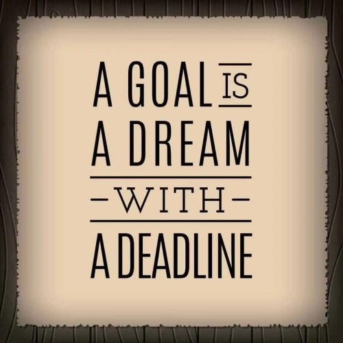 goal, dream, deadline, Charity Event Planning Cannot Go Wrong if You Use These Tips