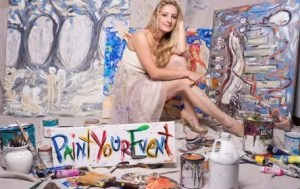 Heidi Schwartz Can Do Live Painting like No Other Artist