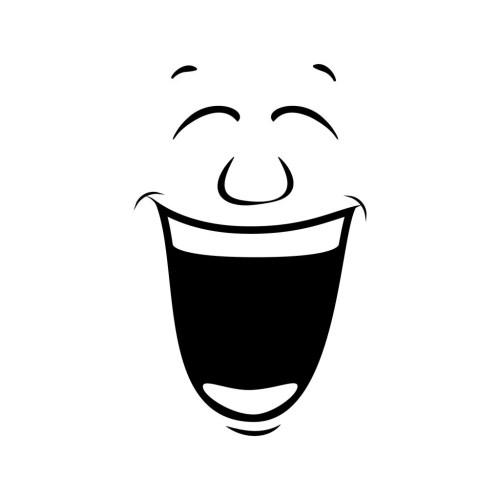 laugh, smile