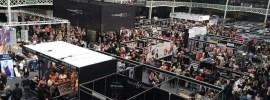 exhibit hall, trade show