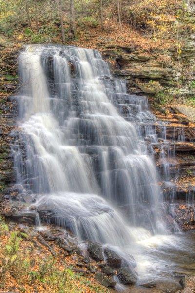 Erie Falls at Ricketts Glen