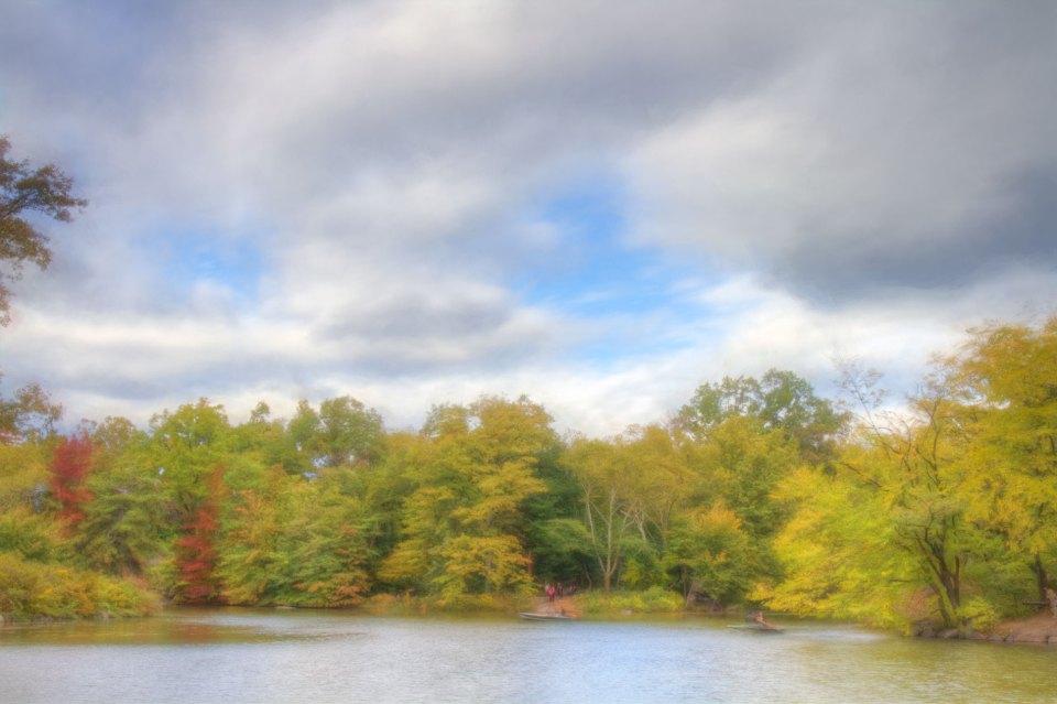 Autumn Day On The Lake