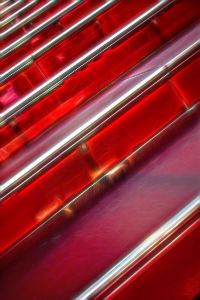 Red Stairs of Times Square