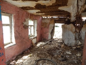 inside my grandfather's house in Nikopol