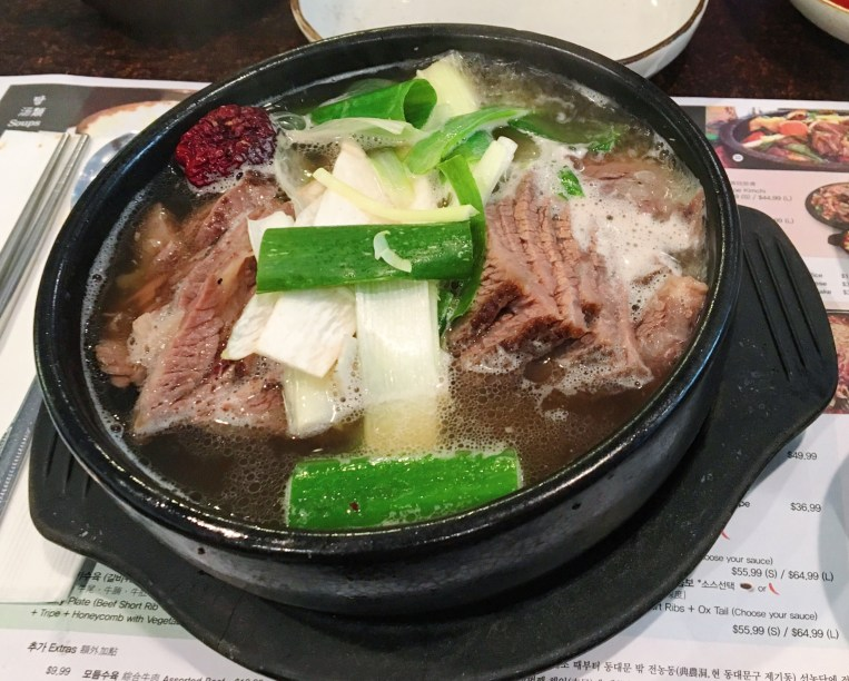 Special Beef Back Rip Soup with Noodle