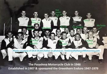 104- 1946 Pasadena MC PMC group, thx Dick Dean