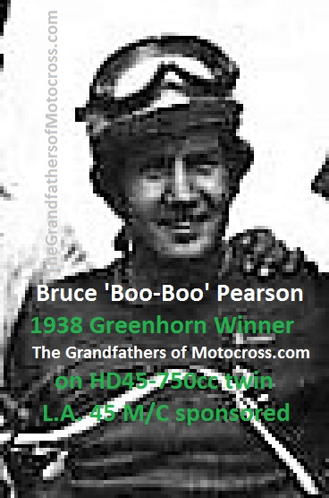 1938 Greenhorn Bruce Boo Boo Pearson