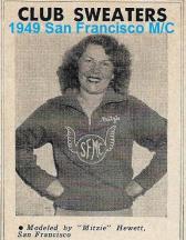 1949 San Francisco MC sweater, SFMC