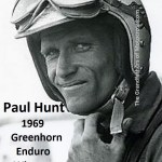 1969 Greenhorn winner Paul Hunt, rode HD