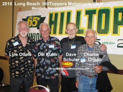 2010 a3 Hilltoppers MC Reunion LYLE OTTELE, Del Kuhn, DAVE SHULER, Charlie CRIPPS