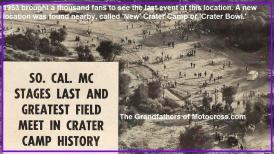 SoCal MC, Crater Camp