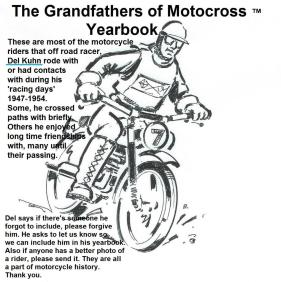 0 YEARBOOK for Grandfathers of Motocross