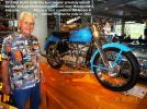 1947 to 1953 did not ride HD. 2013 5-27 Del Kuhn visits Barber museum, Alabama, K model HD (2)