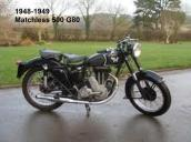 1948 5-0c Del Kuhn rode similar Matchless 1949 matchless 500 g80 (2)