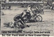 1954 a2 Del falls & wins So. Cal. Field Meet agility like, new Crater Camp N. San Fernando Valley