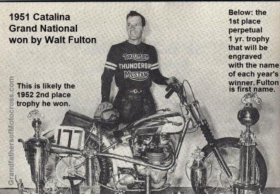 Fulton, Walt 1951 Catalina Winner