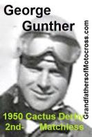 Gunther, George a1 1950 2nd in Cactus Derby & 1951 Catalina would lay out course with Del Kuhn