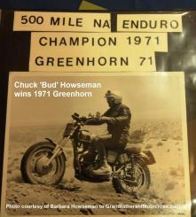 Howseman, Chuck 'Bud' a1 1971 Greenhorn Winner from his Memorial book