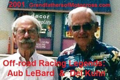 LeBard, Aub (AMA) 2001 & Kuhn, Del at Aubs shop