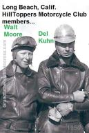 Moore, Walt 1949 Hilltoppers MC & Del Kuhn & ready for GREENHORN